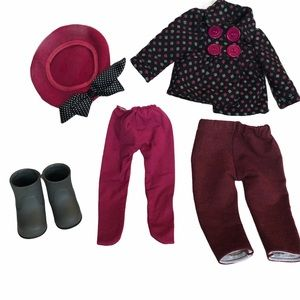 Our generation doll clothes & boots fit AG doll
